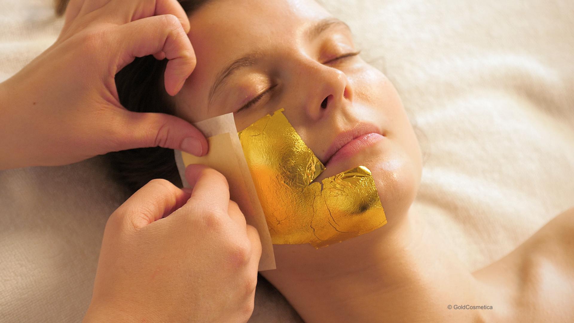 Gold in Kosmetik schädlich?